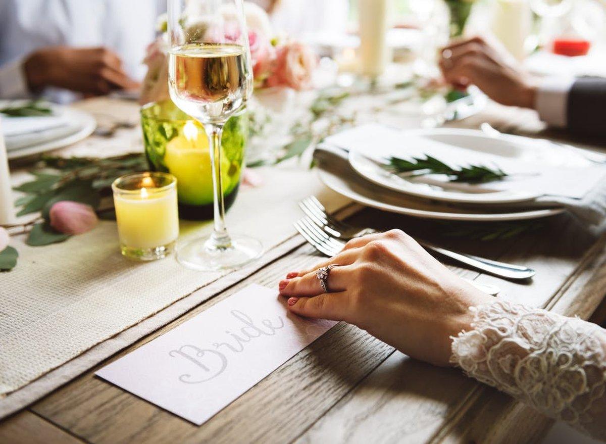 Tolles Hochzeitsessen