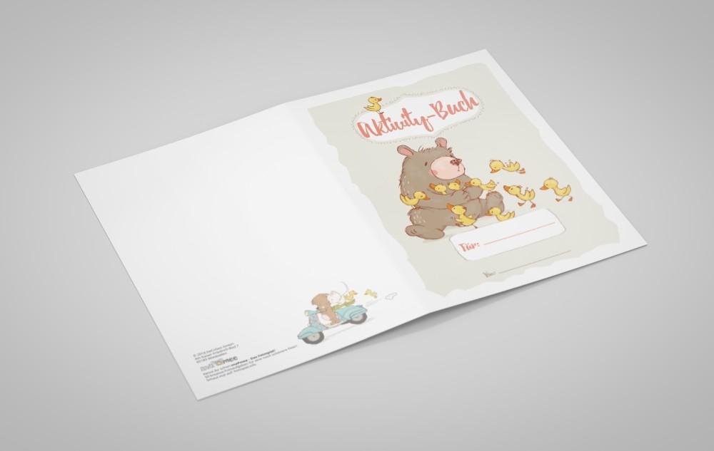 Mal- und Rätselbuch für Kids