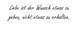Liebe ist der Wunsch – Bertolt Brecht
